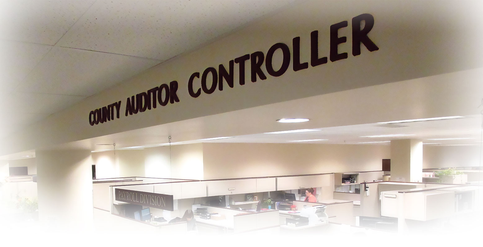 Welcome to Stanislaus County's Auditor-Controller's Office